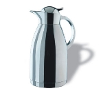 Service Ideas 0767000200 2-liter Coffee Server w/ Push-Button Lid, Stainless, 11-in