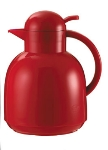 Service Ideas 0925037100 1-liter Coffee Server w/ Vacuum Insulation, Red, Plastic