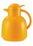 Service Ideas 0925096100 1-liter Coffee Server w/ Vacuum Insulation, Yellow, Plastic