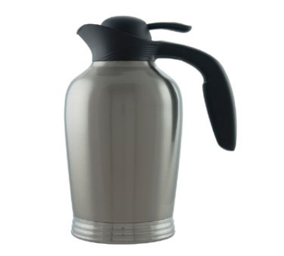 Service Ideas 10-00008-000 50-oz Vacuum Pitcher w/ No Drip Lip, Stainless Insulation