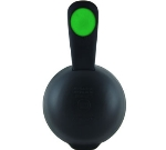 Service Ideas 10-00059-003 Carafe Lid Fits All ErgoServ Servers, Black w/ Green Dot