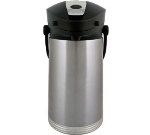 Service Ideas 10-00181-000 2.5-liter Airpot w/ Vacuum Insulation, Lever Lid, Stainless