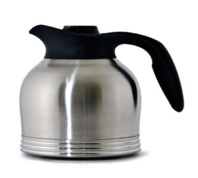 "Service Ideas 10-00183-000 64-oz Brew-In Carafe w/ Vacuum Insulation, No Drip Lip, 7.5"""