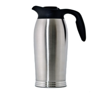 "Service Ideas 10-00185-000 64-oz Brew-In Carafe w/ Vacuum Insulation, No Drip Lip, 12.5"""