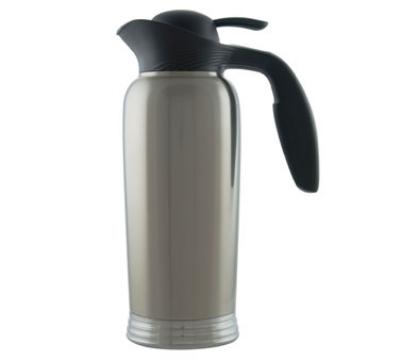 Service Ideas 10-00744-000 1-liter Creamer w/ No Drip Lip, Stainless