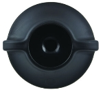 Service Ideas 10-01039-001 Carafe Lid Fits All ErgoServ Brew-In Carafes, Black
