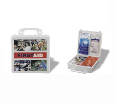 Service Ideas 1124SI First Aid Kit w/ 173-Pieces