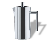 Service Ideas 2120 120 040 1.2-liter Coffee Maker w/ Double Wall Insulation, Traditional Press