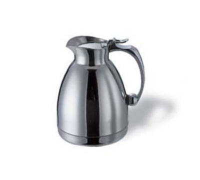 Service Ideas 55760 .6-liter Pitcher w/ Unbreakable Liner, Stainless