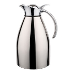 Service Ideas 98215 1.5-liter Carafe w/ Vacuum Insulation, Polished Stainless Finish