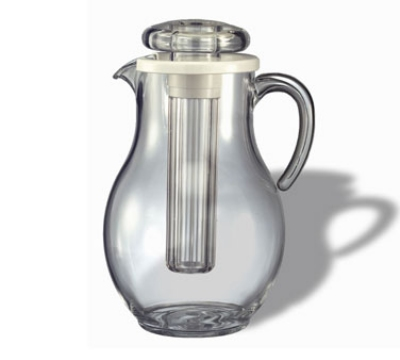 Service Ideas AWP33SB 3.3-liter Water Pitcher w/ Smooth Surface, Clear Acrylic