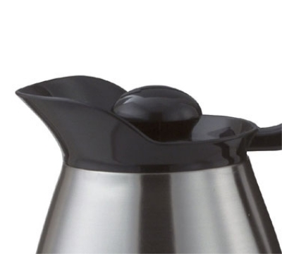 Service Ideas CGSTOP1 Stopper Lid For Classic Glass Carafe, Black