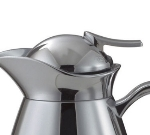 Service Ideas CJRL1CHD Decaf Lid For Vacuum Carafe, Chrome