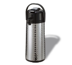 Service Ideas ECAJL22S 2.2-liter Insulated Airpot w/ Smooth Body, Lever Style, Jewel Shell
