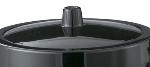 Service Ideas IBL3BL Ice Bucket Lid For IB3, Black