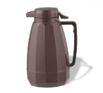 Service Ideas NG101BU 1-liter Coffee Server w/ Push Button Lid, Burgundy