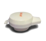 Service Ideas NGLWWHD Decaf Welded Push Button Lid For 501, 101, 315 & 421 Server, White