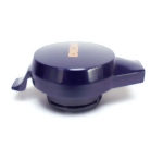 Service Ideas NGLWBLD Welded Decaf Push Button Lid For 501, 101 & 421 Servers, Black