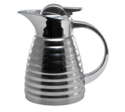 Service Ideas RLVP67 .6-liter Elite Coffee Server w/ Glass Interior, Mirrored Finish