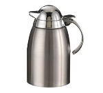 Service Ideas SC85 8.5-oz Creamer Dispenser w/ Chrome-Plated Plastic Lid, Stainless
