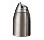 Service Ideas SS85 8.5-oz Sugar Dispenser w/ Chrome-Plated Plastic Lid, Stainless