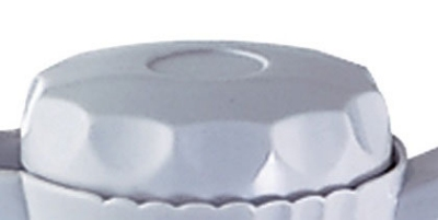 Service Ideas TNSL60WH Replacement Twist Lid For 2-liter TNS60 Server, White