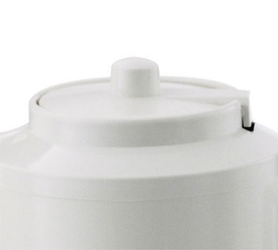 Service Ideas TPLWH Replacement Lid For TS612 Teapot, White