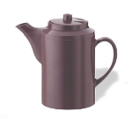Service Ideas TST612BU 16-oz Dripless Teapot w/ Tether, Baffled Spout, Burgundy
