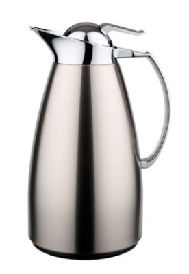 Service Ideas WJ10SSBS 1-liter Coffee Server w/ Stainless Interior, Brushed Stainless