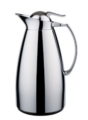Service Ideas WJ10SSCH 1-liter Coffee Server w/ Stainless Interior, Chrome