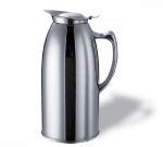 Service Ideas WP1CH 1-liter Pitcher w/ Double-Wall Insulation, Polished Stainless