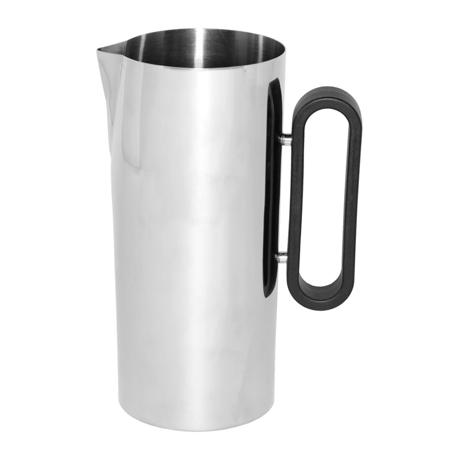 "Service Ideas SM-24 64-oz Water Pitcher, 4.25 x 9.5"", Stainless w/ Mirror Finish"