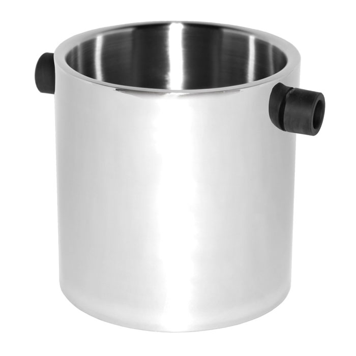 "Service Ideas SM-3 2.4-qt Champagne Bucket w/ 7 x 7"" Base, Stainless, Mirror Finish"