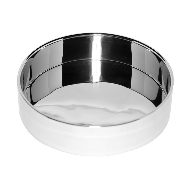 "Service Ideas SM-45 2.3-qt Serving Bowl w/ Double Wall Insulation, 7 x 2.3"", Mirror Finish"