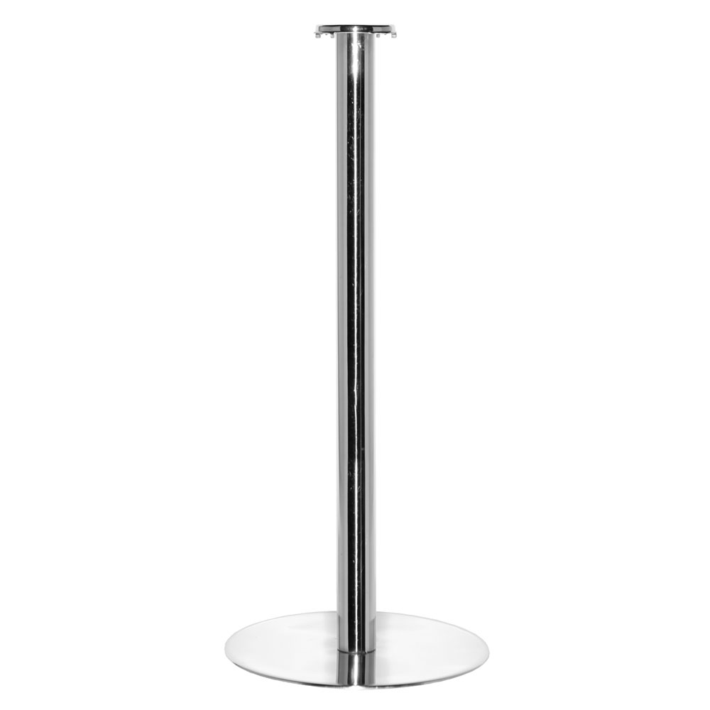 "Service Ideas SM-4 Bucket Stand w/ 25 x 10"" Base, Stainless, Mirror Finish"