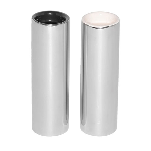 "Service Ideas SM-65 3.75"" Salt & Pepper Shaker Set, Round"