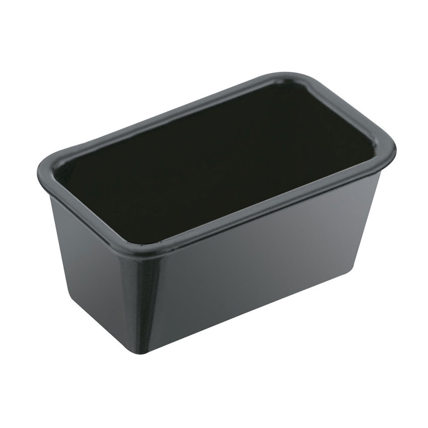 Service Ideas SPH5BL 5-in Sugar Packet Holder, Black