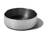 Service Ideas SB-44 12-oz Serving Bowl w/ Double Wall Insulation, 4 x 1.4-in, Brushed Finish