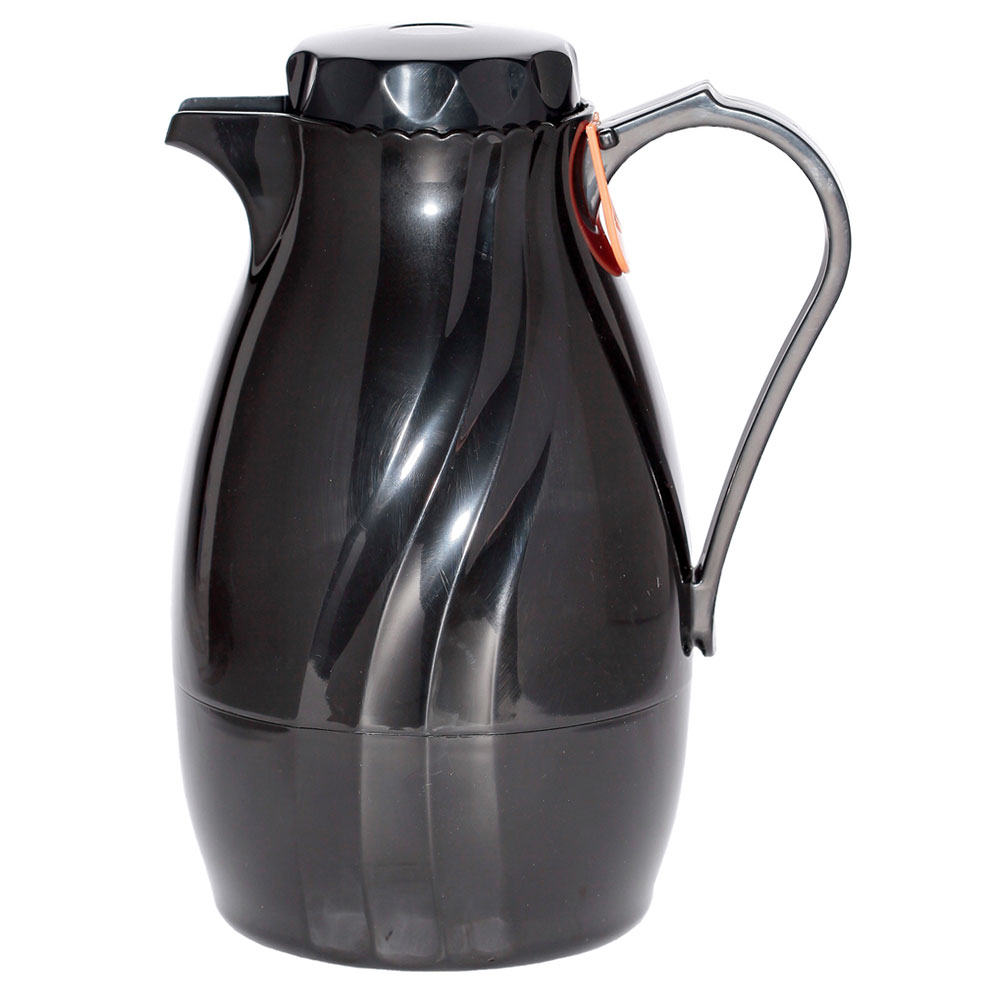 Service Ideas TNS20BL .5-liter Coffee Server w/ Twist-On Lid, Content Indicator, Black