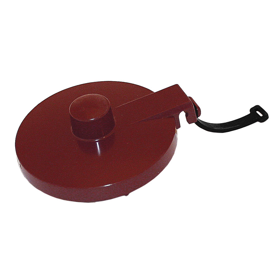Service Ideas TPLTBU Replacement Lid w/ Tether For TS612 Teapot, Burgundy