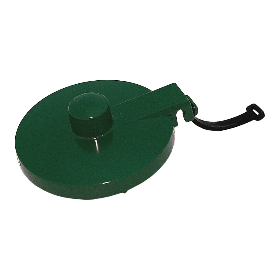 Service Ideas TPLTFG Replacement Lid w/ Tether For TS612 Teapot, Forest Green