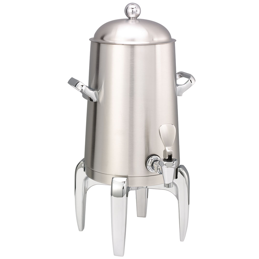 Service Ideas URN15VBS 1.5-Gal Coffee Urn w/ Vacuum Insulation, Brushed Stainless