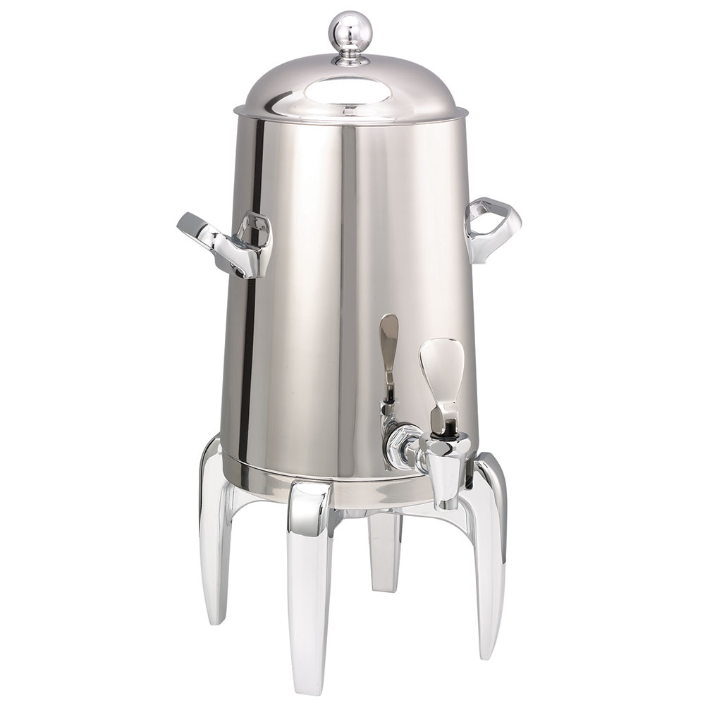 Service Ideas URN15VPS Vacuum Insulated Coffee Urn w/ 1.5-gal Capacity, Chrome Accents, Stainless