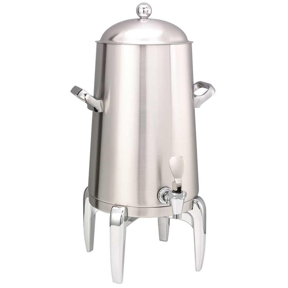 Service Ideas URN30VBS2 3-Gal Coffee Urn w/ Vacuum Insulation, Brushed Stainless