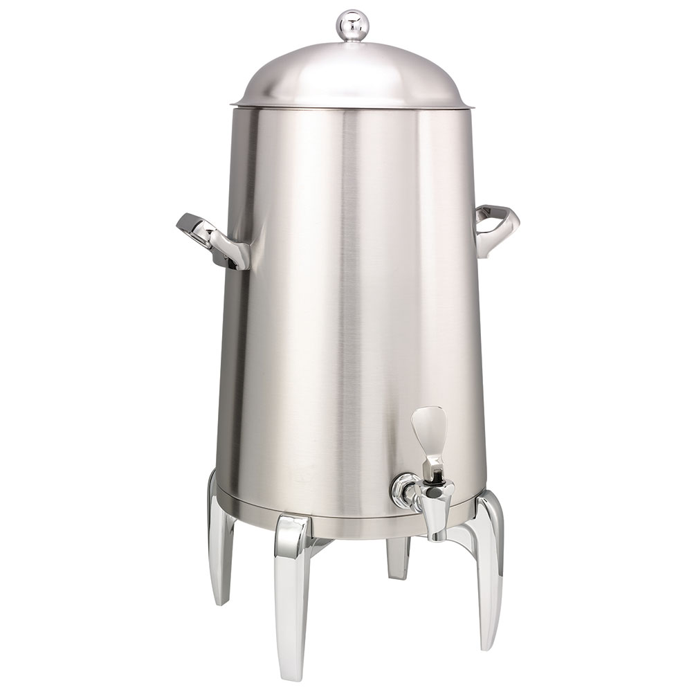 Service Ideas URN50VBS 5-Gal Coffee Urn w/ Vacuum Insulation, Brushed Stainless