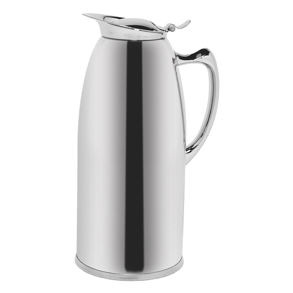 Service Ideas WP20CH 2-liter Pitcher w/ Double-Wall Insulation, Polished Stainless