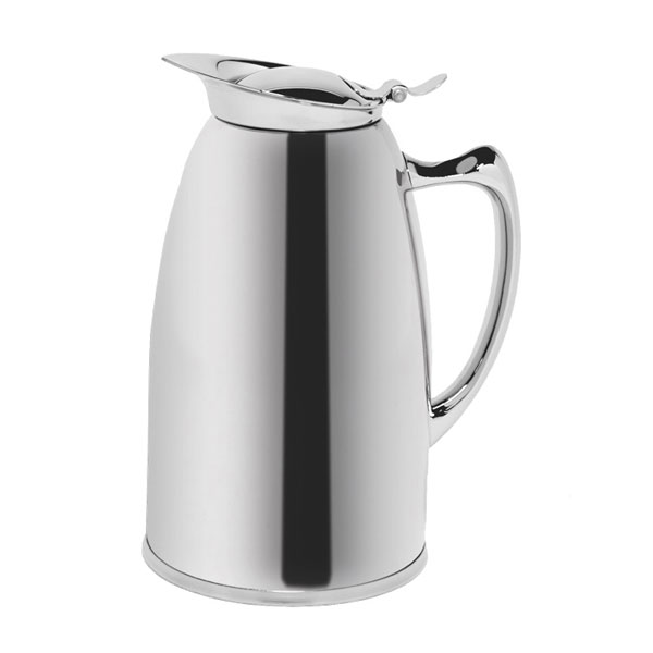 Service Ideas WP6CH .6-liter Pitcher w/ Double Wall Insulation, Polished Stainless