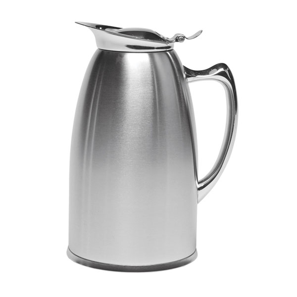 Service Ideas WP6SA 20-oz Pitcher w/ 3-hr Retention & Foam Insulation, All Brushed Stainless