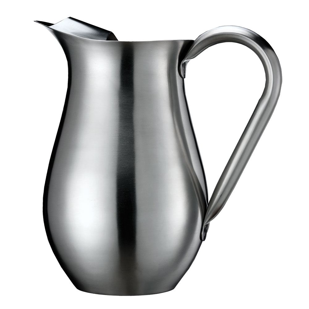 Service Ideas WPB2BS 68-oz Pitcher w/ Guard - Stainless