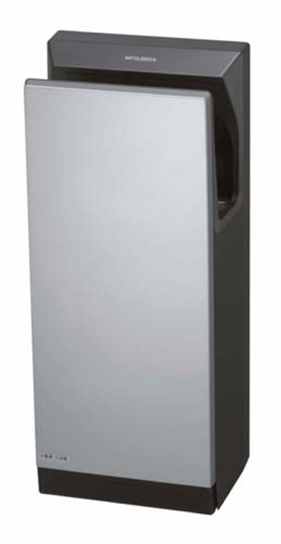 mitsubishi jt sb116jh g na jet towel hand dryer w 10 second dry time. Black Bedroom Furniture Sets. Home Design Ideas